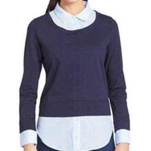 Tommy Hilfiger 2-fer Blouse Long Sleeve Shirt